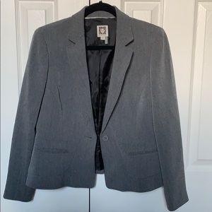 Anne Klein professional grey blazer